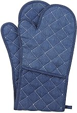 NEOVIVA Cotton Denim Jeans Quilted Double Oven