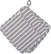 NEOVIVA Cotton Denim Quilted Heat Resistant Pot