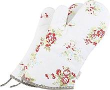 NEOVIVA Cotton Quilt Oven Gloves for Adult, Pack