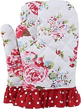 NEOVIVA Cotton Quilted Oven Mitt for Adult Women,
