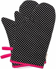 NEOVIVA Heat Resistant Oven Gloves for Large