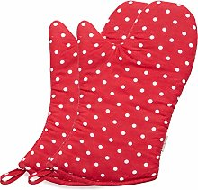 NEOVIVA Polka Dots Oven Gloves for Everyday Fun
