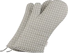NEOVIVA Polka Dots Oven Gloves Set of 2 for