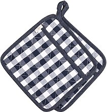 NEOVIVA Quilted Kitchen Pot Holder Set of 2 with