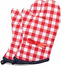 NEOVIVA Woven Checked Quilting Heat Resistant Oven
