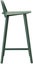 Nerd Bar chair - H 65 cm - Wood by Muuto Green