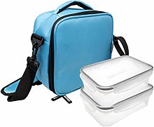 NERTHUS Food Carrier Shoulder Bag and Two Pockets: