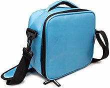 NERTHUS Lunch Shoulder Bag and Two Pockets: Blue,