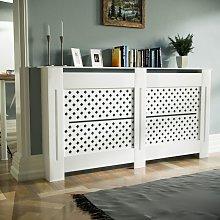 Neshome - Boa 1520mm Large MDF Wood Radiator Cover