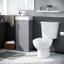 Neshome - Carder Cloakroom Basin Vanity Cabinet