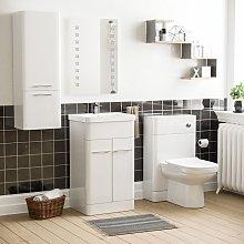 Neshome - Torex Vanity Sink Unit & BTW WC Toilet