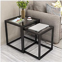 Nesting Small Coffee Table Nest of 2 Tables