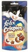 Nestle - Felix Crispies Beef&Chicken - 45g - 25173