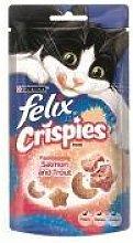 Nestle - Felix Crispies Salmon&Trout - 45g - 25184