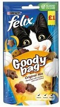 Nestle - Felix Goodybag Original £1 - 60g - 558226