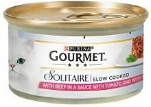Nestle - Gourmet Solitaire Beef & Tomato - 85g -