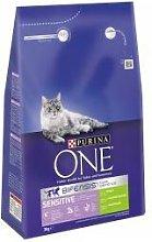 Nestle - Purina One Sensitive Turkey - 3kg - 578201