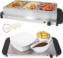 Netagon Compact 200W 3L Electric Buffet Server 3