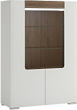 Netfurniture - Canada Low Glazed 2 Door Display