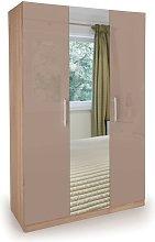 Netfurniture - Corisal Wardrobe - Oak Mirrors 3