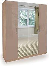 Netfurniture - Corisal Wardrobe - Oak Mirrors 4