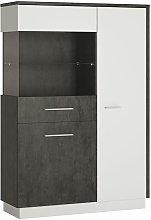 Netfurniture - Gerzing Low Display Cabinet (Lh)