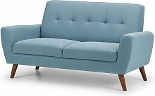 Netfurniture - Honcho 2 Seater Compact Sofa Grey