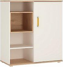 Netfurniture - Kiddie Low Cabinet Shelves (Sliding