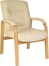 Netfurniture - Lirus Visitor/Office Cream Chair
