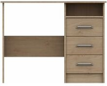 Netfurniture - Marianne 3 Draw Dressing Table Oak