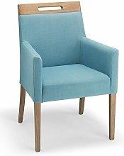 Netfurniture - Modosi Fabric Wood Chair Teal