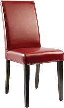 Netfurniture - Niko Chair Pack Of 2 Chairs Red