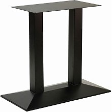 Netfurniture - Quadric Cast Twin Pedestal