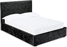 Netfurniture - Ribbon 4.6 Double Bed Black