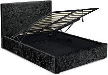 Netfurniture - Ribbon 5.0 Kingsize Bed Black