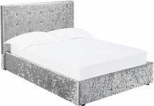Netfurniture - Ribbon 5.0 Kingsize Bed Silver