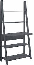 Netfurniture - Toddny Ladder Desk Black