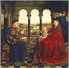 Netherlandish jan van eyck Canvas Art Wall