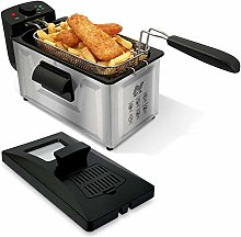NETTA 3L Deep Fat Fryer with a Viewing Window,