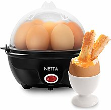 NETTA Electric Egg Boiler for 7 Eggs - Makes
