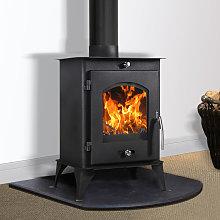 Nettleham 7.56KW Modern Log Burner Multifuel Wood