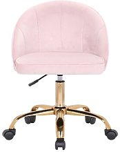 Nettles Ergonomic Desk Chair Blue Elephant