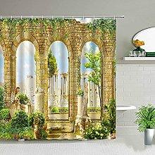 NETUPQ Shower curtainBathroom Decor Cloth Curtains