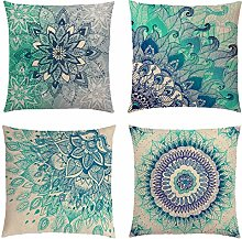 Neusky Set of 4 Decorative Cushion Covers