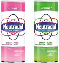 Neutradol Carpet Deodoriser 2 Pack Super Fresh and