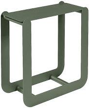 Nevado Wood holder - / Stool - L 60 x H 60 cm by