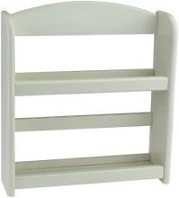 New 2 Tier Cream Wall Mounted Free Standing Wood