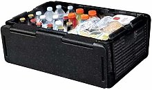 New 60 Cans Chill Chest Cooler Collapsible