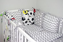 NEW 8 PCS BABY BEDDING SET FOR COT / COTBED with