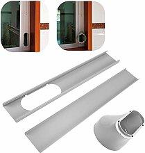 NEW Adjustable Window Seal With Window Adaptor Kit